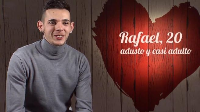 Rafa, comensal de 'First Dates'.