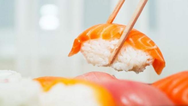 El arroz y el pescado son los dos pilares de la gastronomía nipona.