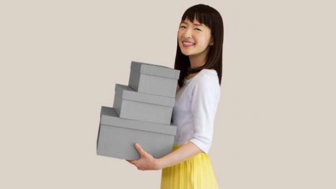 El show 'Tidying Up with Marie Kondo' está disponible en Netflix.