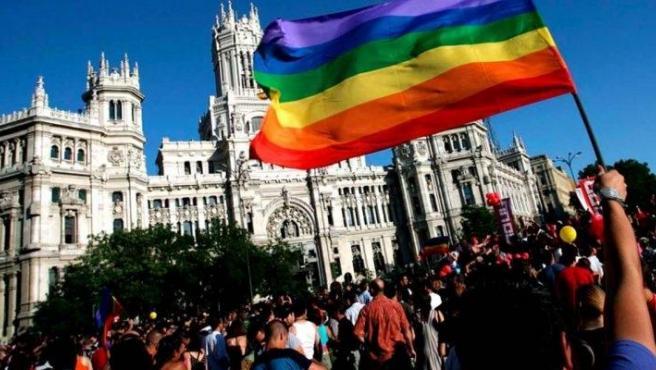 Fiestas del Orgullo en Madrid.