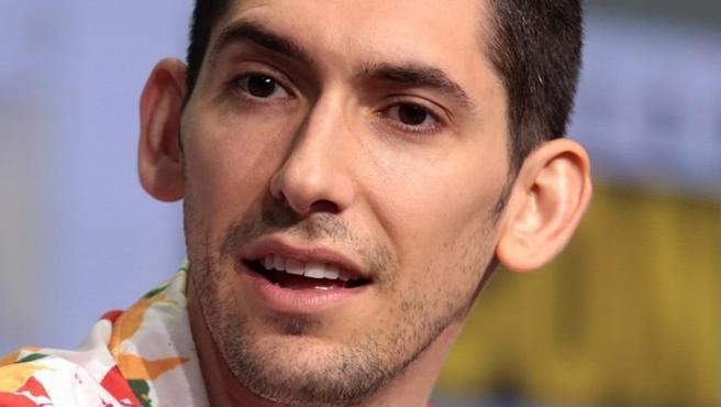 El guionista estadounidense Max Landis, en 2017.