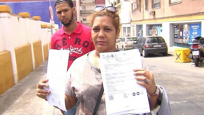 Madre de la menor agredida por su exnovio en San Juan de Aznalfarache, Sevilla.