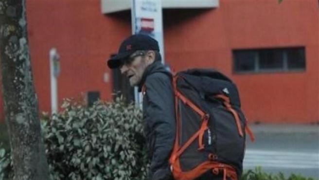 Josu Ternera, poco antes de su detención.