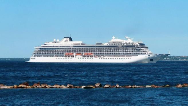 Imagen del crucero Viking Sun.