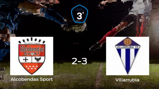 El Villarrubia comienza con ganas la final de los playoff tras ganar 2-3 al Alcobendas Sport