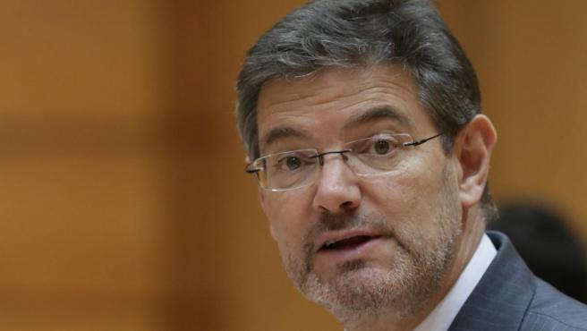 El exministro de Justicia, Rafael Catalá Polo, en una imagen del mes de abril.