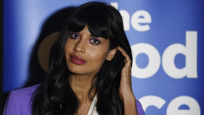 La actriz y activista Jameela Jamil.
