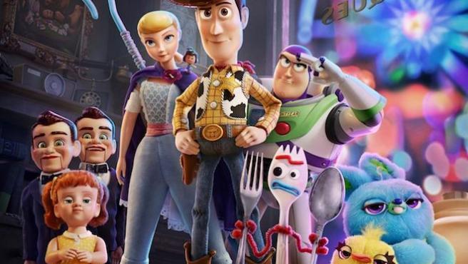 'Toy Story 4' tiene el mejor estreno de la historia de la saga