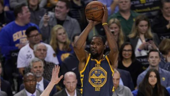 Kevin Durant, alero de Golden State Warriors.