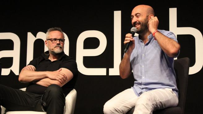 Gonzo Suárez e Iván Fernandez Lobo, ideólogo y director de Gamelab.
