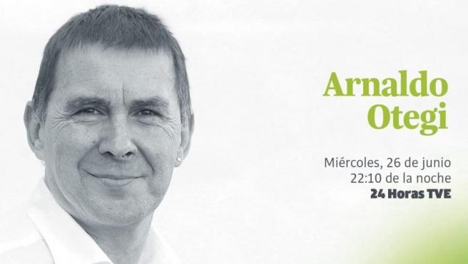 Promoción de EH Bildu de la entrevista del líder de la formación abertzale, Arnaldo Otegi, en TVE.