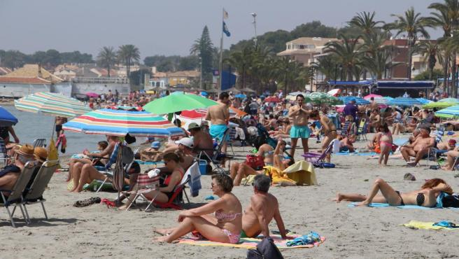 Playa, Semana Santa, calor, verano