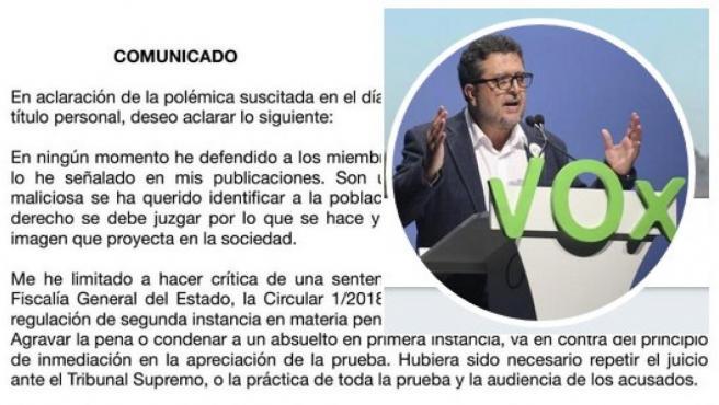 Comunicado de Francisco Serrano