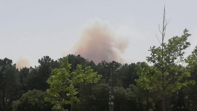 Incendio en Villar de Olalla