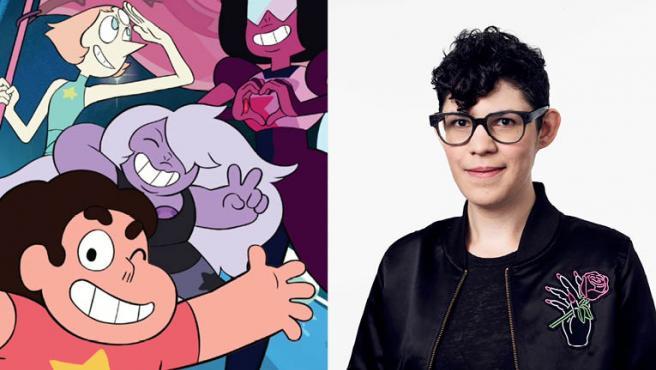 """Rebecca Sugar: """"Nunca he creído tener sentido antes de 'Steven Universe', eso es nuevo para mí"""""""