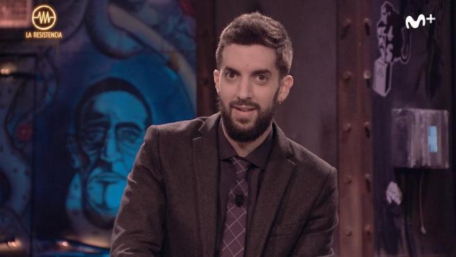 David Broncano, humorista y presentador de 'La Resistencia' de Movistar+.