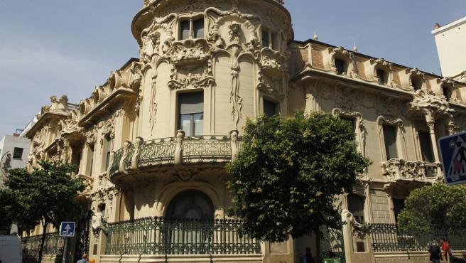 Edificio de la Sociedad General de Autores y Editores (SGAE).