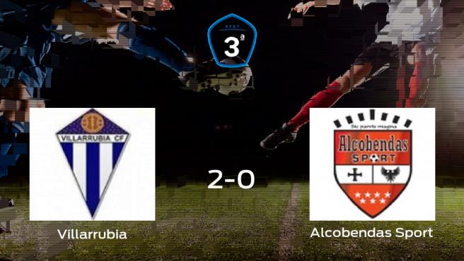El Villarrubia se impone por 2-0 ante el Alcobendas Sport y consigue una plaza en Segunda División B