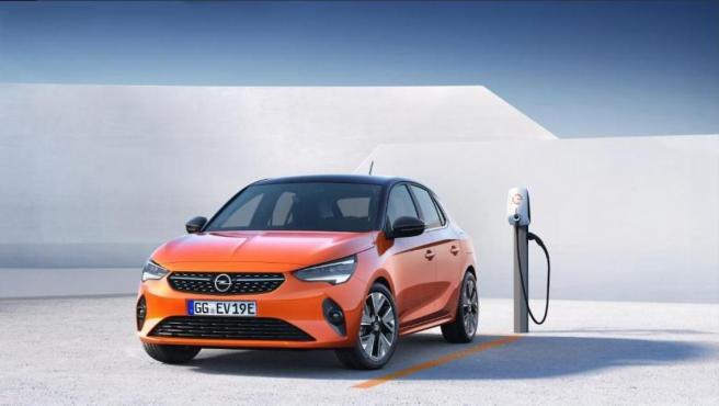 Opel Corsa-e: vehículo 100% eléctrico.