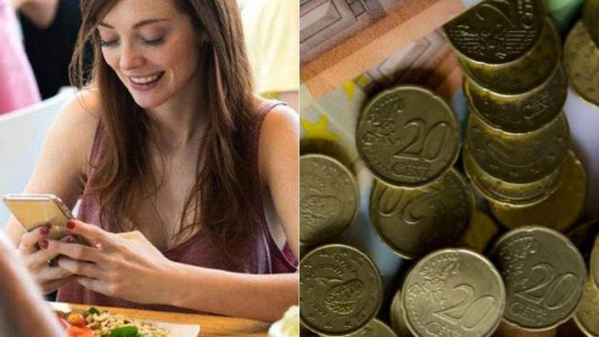 Los teléfonos móviles, las monedas o billetes acumulan numerosos gérmenes.