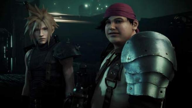 Una captura del juego 'Final Fantasy VII Remake'.