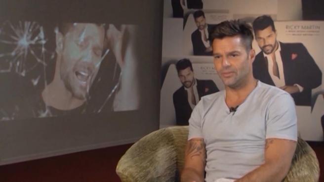 El cantante Ricky Martin, en una imagen de archivo.