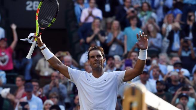 Nadal se metió en segunda ronda de Wimbledon tras ganar al japonés Sugita.