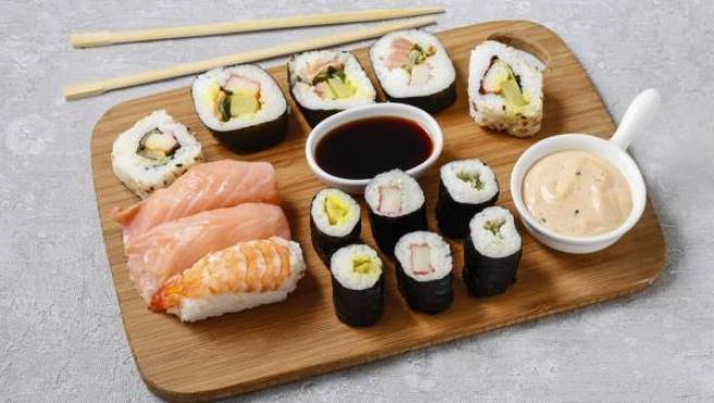 Comida japonesa.