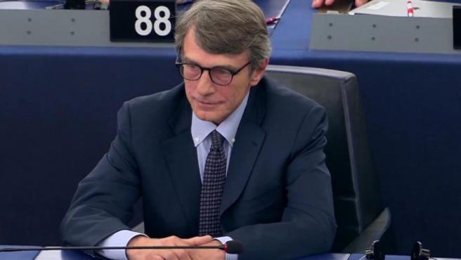 David Sassoli, nuevo presidente del Parlamento Europeo.
