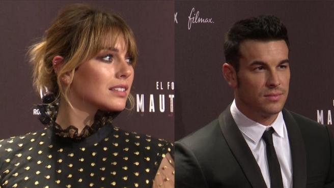 Blanca Suárez habla sin problema de su relación con Mario Casas.