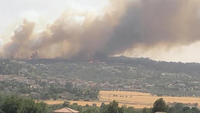 Incendio de Toledo.