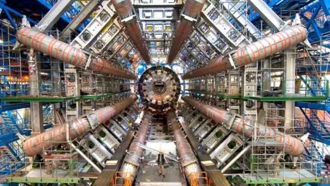 El Gran Colisionador de Hadrones en el CERN.