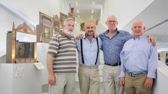 Lucio Hueras, Fernando Sánchez, Pedro Breguería y Juan Pablo Sánchez.