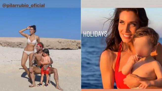 Vacaciones de Sergio Ramos y Pilar Rubio en Egipto.