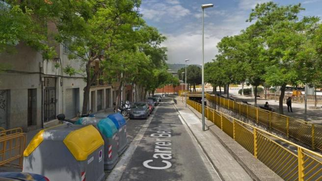 Imagen de la cale Beatriu, en el barrio barcelonés del Carmel.