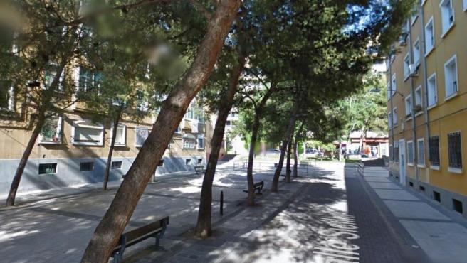 Imagen de la calle Sicilia de Zaragoza.