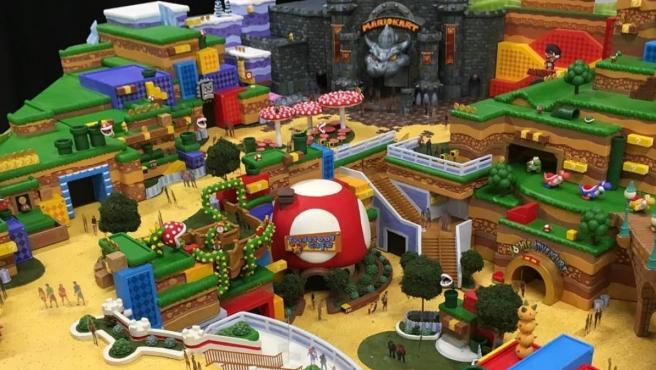 Fotos filtradas de cómo podrían ser los parques de atracciones de Nintendo.