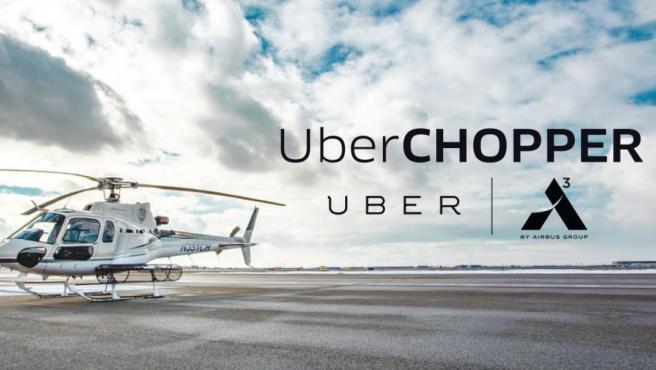 Uber da el salto al transporte de pasajeros por vía aérea en Nueva York con el traslado de personas desde el sur de Manhattan hasta el aeropuerto JFK por un precio que oscilará entre 200 y 225 dólares.