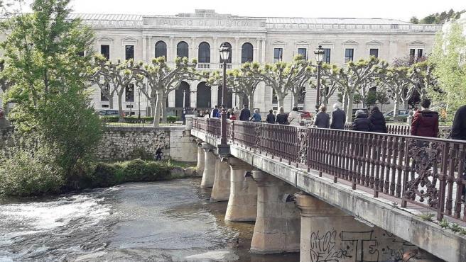 Palacio de Justicia de Burgos, sede del Tribunal Superior de Justicia de Castilla y León