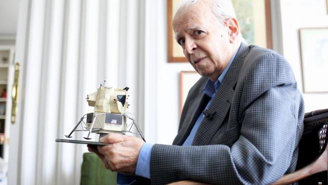 El exdirector de la oficina de la Nasa en Fresnedillas de la Oliva, el físico e ingeniero Luis Ruiz de Gopegui.