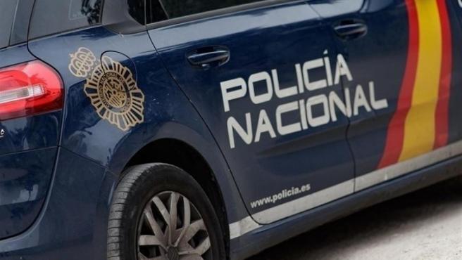Coche de la Policía Nacional.c