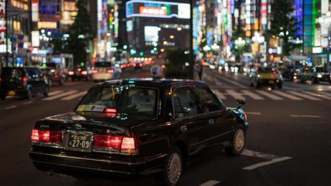 Una carretera de Tokio (Japón).