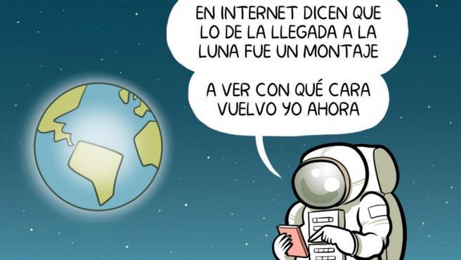 50 años de la llegada a la Luna - ÁLVARO TERÁN