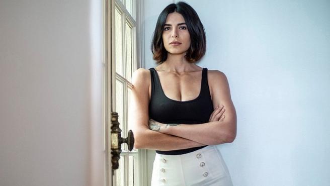 Negzzia, modelo iraní de 29 años.