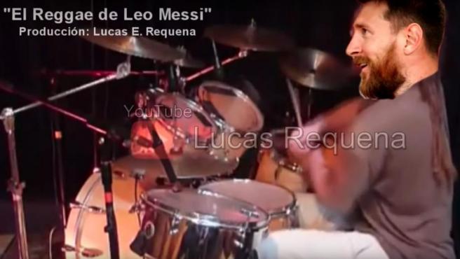 Una imagen del vídeo editado por el youtuber Lucas Requena.