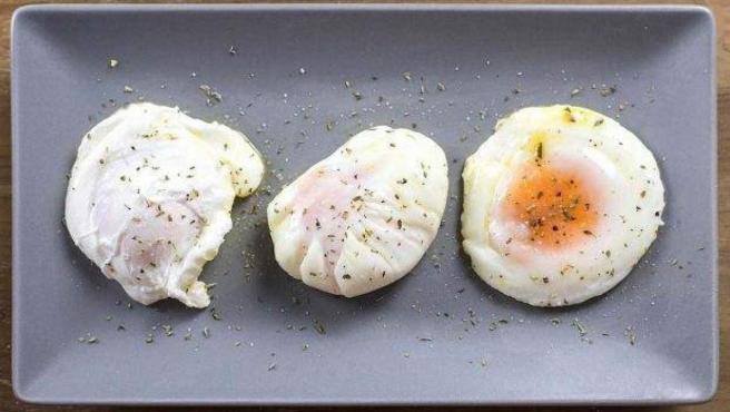 Huevos escalfados.