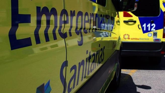 Fotografía de archivo de ambulancia de SaCyL