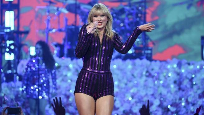 Taylor Swift, en un concierto en Nueva York.