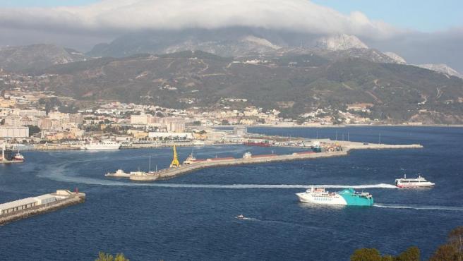 El puerto de Ceuta, en una imagen de archivo.
