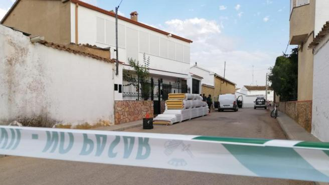 Imagen de la calle Cuenca de Casas de Benítez, donde se han producido los hechos.